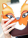 Femme Polyurethane Decontracte Sac a Bandouliere Orange / Marron