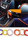 5 metres voiture corps Exterieur Interieur modifier moulures decalcomanie fil sticker de decoration de voiture automobile