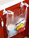 armoires de rangement des sacs a ordures en plastique de crochet
