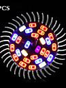 5pcs morsen®new arriver spectre complet LED Grow Light E27 lampe led croissante de systeme de culture hydroponique de fleurs de