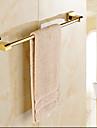 Barre porte-serviette Ti-PVD Fixation Murale 60*4*7cm(23.6*1.6*2.8inch) Laiton Contemporain
