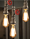 40W-60W Lampe suspendue ,  Contemporain / Traditionnel/Classique / Rustique / Vintage / Retro / Lanterne Peintures Fonctionnalite for