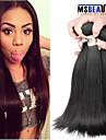"""4 st / lot 8 """"-30"""" 6amalaysian jungfru hår rakt människohår väft 100% obearbetat malaysiska remy hår väver"""