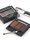 lideal® tre färger varaktig karaktär vattentät ögonbryn pulver