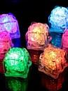 capteurs d\'eau multi couleurs changeantes glacons conduit evenement parti dirige LCES lumineux