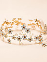 2016 New White Opal / Crystal Headpiece - Wedding / Special Occasion Headbands 1 Piece