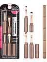 4.0 Oogschaduwkwast / Lippenkwast / Aanbrengspons Synthetisch haar Professioneel / Reizen / Milieuvriendelijk / Draagbaar Metaal / Plastic
