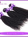 jungfru malaysiska lockigt hår 3 st 7a malaysiska kinky lockigt hår billig malaysiska hår 100g naturliga färg