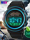 SKMEI® Men's Solar Battery LCD Digital Sport Watch Fashion Sporty Stopwatch Cool Watch Unique Watch