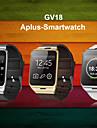 första nfc bluetooth smarta watch gv18 Smartwatch kamera GSM SIM-kort för iOS och Android-telefon