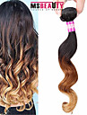 "1 Pc /Lot 16""-24""7A 3TMalaysian Virgin Hair Loose Wave Hair Extensions 100% Unprocessed Remy Human Ombre Hair Weaves"