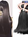"""4 pieces / lot 8 """"-30"""" cheveux vierges peruvien cheveux humains droite 6a trames 100% remy peruvien non transformes tissages de cheveux"""
