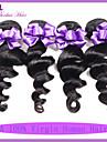 Malaysiska jungfru hår lösa våg 3st obearbetade jungfru malaysiska hårknippena billiga malaysiska lös våg