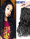 "3 pieces / lot 12 ""-22"" 6a cheveux indiens vierges vague naturelle de cheveux humains tisse"