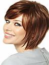 newproduct brunt kort rakt hår syntheic peruk