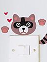 Animaux / Bande dessinee / Romance / Tableau noir / Mode / Vacances / Paysage / Forme / Fantaisie Stickers muraux Stickers avion , PVC