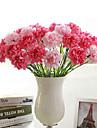 Gren Polyester Nejlika Bordsblomma Konstgjorda blommor