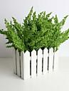 Une succursale Soie Mousse de polystyrene Plastique Plantes Fleur de Table Fleurs artificielles 33(13\'\')