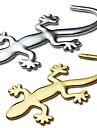 ziqiao 3d purs autocollants gecko metallique autocollant personnalite decoration de voiture