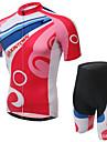 XINTOWN® Cykeltröja med shorts Dam Kort ärm CykelAndningsfunktion / Snabb tork / Ultraviolet Resistant / Lättviktsmaterial / 3D Pad /