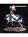 Fate/stay night Saber PVC Anime Actionfigurer Modell Leksaker doll Toy