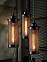 40-60w Traditionell/Klassisk / Rustik/Stuga / Vintage / Kontor/företag / Utomhus / Rustik Ministil Målning Metall Hängande lamporLiving
