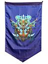ligue des legendes drapeau 96x64cm plus d\'accessoires