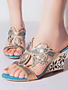 Zapatos de mujer - Tacon Cuna - Cunas / Tacones / Punta Abierta / Zapatillas - Sandalias / Tacones / Zuecos - Exterior / Vestido / Casual