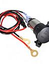 12v 120W masina motocicleta brichetă priză cablul de 60cm