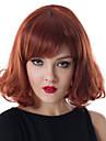 mellersta längd våg hår europeisk väva ljusbrun färg hår peruk