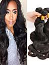 1 paquet de 100% extension de cheveux couleur naturelle des cheveux peruvian 40g de haute qualite