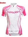 TASDAN® Cykeltröja Dam Kort ärm Cykel Andningsfunktion / Snabb tork / Ultraviolet Resistant / SvettavvisandeCykeltröja och tights / Tröja