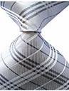Cravată (Gri , Poliester) Dungi