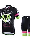 Maillot et Cuissard de Cyclisme Femme / Homme / Unisexe Manches courtes VeloRespirable / Sechage rapide / Vestimentaire / Compression /