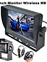 RenEPai® 7 Inch Monitor Wireless 170°HD Bus Car Rear View Camera + Bus High-Definition Wide Angle Waterproof CMD Camera