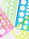 l\'art de la fabrication du papier quilling modele rond - 4 couleur aleatoire