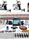tatouage Solong tatouage complet kit 2 machines pro 54 encres alimentation aiguilles pedale poignees conseils tk258