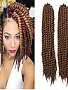 varm försäljning av god kvalitet havana twist fläta syntetiskt hår virka fläta # 30color fläta twist afro lockigt