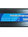 2000W strömriktare 12v24v till 220V med usb