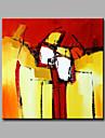 Pictat manual FantezieModern Un Panou Canava Hang-pictate pictură în ulei For Pagina de decorare