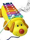 chien mignon rythme colore pianos jouets instruments de musique de musique