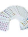 Blomma - Finger / Tå - 3D Nagelstickers - av Andra - 50st - styck 15cm x 10cm x 5cm (5.91in x 3.94in x 1.97in) - cm
