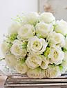 Une succursale Polyester Roses Fleur de Table Fleurs artificielles