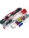 12v bil add-a-krets bladsäkring tap adapter atm aps ATT bladsäkringshållare, 30st säkring, säkring avdragare, linlås, tråd band