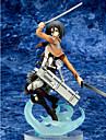Attack on Titan Mikasa Ackermann PVC One Size Figures Anime Action Jouets modele Doll Toy