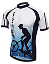 XINTOWN® Maillot de Cyclisme Homme Manches courtes Velo Respirable / Sechage rapide / Resistant aux ultraviolets / Limite les Bacteries