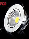 6W Takglödlampa 1 Högeffekts-LED 500-600ml lm Varmvit / Kallvit Dekorativ AC 85-265 V 5 st