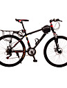 Mountain Bikes Cykelsport 21 Hastighet 24 tum Unisex Skivbroms Suspension Fork Anti-halk Stål / ALUMINIUMLEGERING Röd