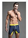 Sport Herr Badkläder Andningsfunktion Hög andningsförmåga  (>15,001g) Kompression Badkläder Underdel Push Up Tangatrosa Grå Blå Mörkblå