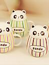 2st 400ml vackra gikt pot-bellied panda keramisk glasyr färg bar mugg dl vatten cup (slumpvis färg)